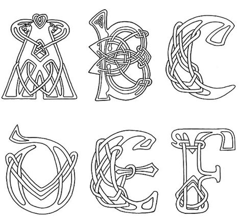 creating celtic knotwork a fresh approach to traditional design dover books celtic letters clipart