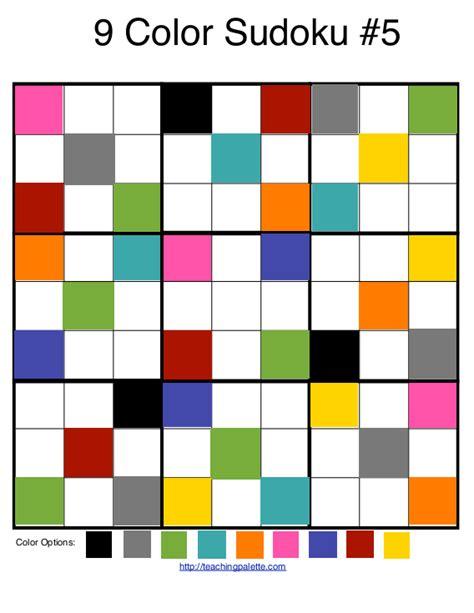color sudoku color sudoku diretoria de ensino fundamental matem 225 tica