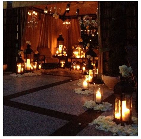 candle lit room candles creative ideas