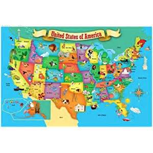 jigsaw puzzle floor 100 pieces 2 x3 map of usa