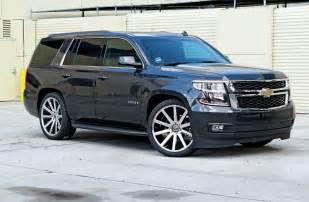Crown Chevrolet Lowering A 2015 Chevrolet Tahoe With Crown Suspension 2 4