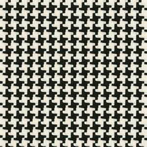 Chevron Table Linens - black amp white knit houndstooth fabric great scott black loom decor