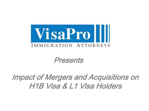 Executive Mba On L1 Visa by Visa Acquisitions