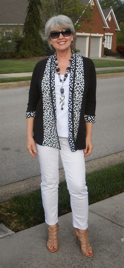 spring fashion 50 year old fifty not frumpy black and white favourite blogger