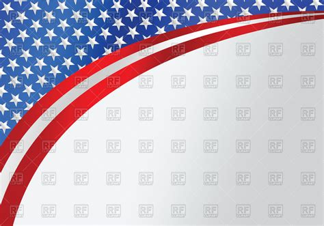 usa flag colors wavy background in usa flag colors royalty free vector