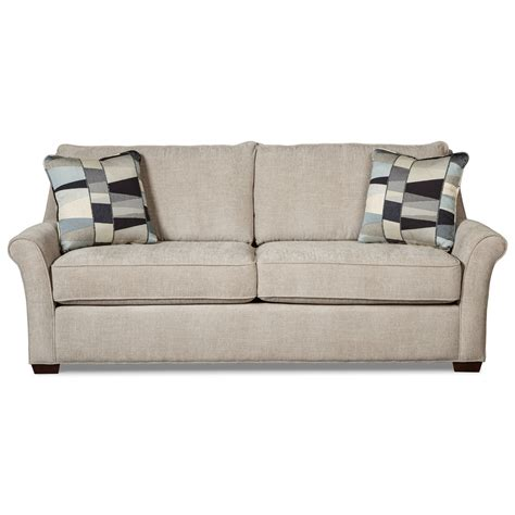 Transitional Queen Sleeper Sofa With Memory Foam Mattress Foam Sleeper Sofa