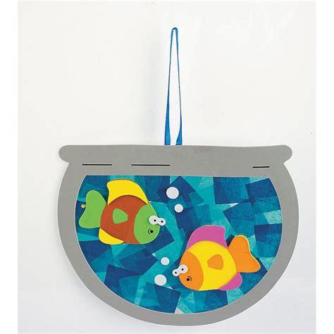 Tissue Paper Fish Craft - best 25 fishbowl craft ideas on theme