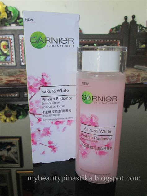 Serum Garnier Essence Review pinastika review garnier white