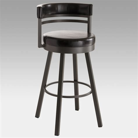 bar stools 26 inch amisco 26 inch ronny swivel counter stool at hayneedle