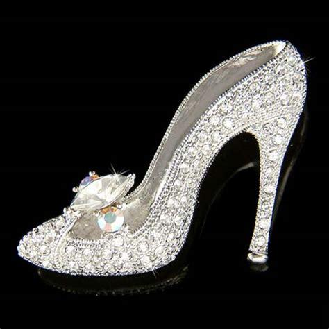 cinderella glass slipper for sale w swarovski cinderella glass slippers high heel