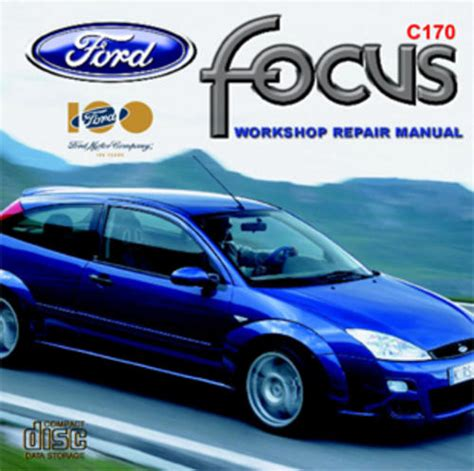 Workshop Manuals Ford Focus Zetec C170 Workshop Manual
