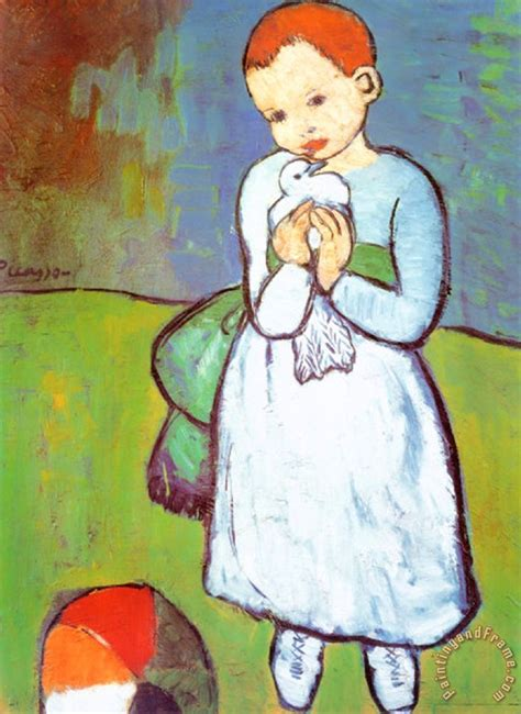 picasso paintings dove pablo picasso child with a dove c 1901 painting child