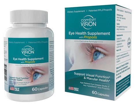 eye comfort comfort vision eye health supplement
