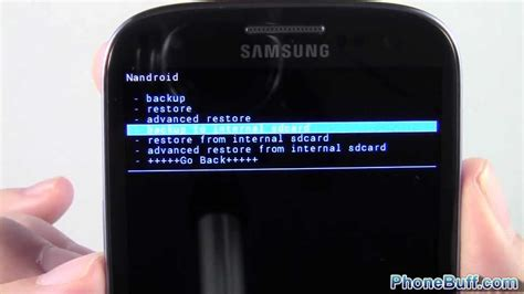 how to backup android how to nandroid backup and restore for android