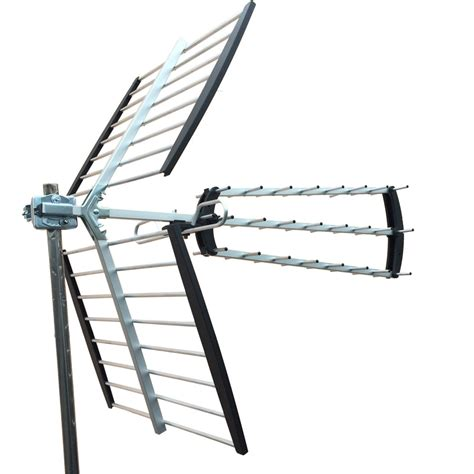 180 mile hdtv outdoor lified hd tv antenna digital uhf vhf fm radio xj 450c ebay