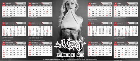 desain kalender 2018 cdr mi hayatul islam kalender indonesia 2018 cdr