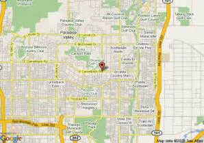 map of scottsdale camelback resort scottsdale