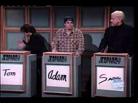 snl celebrity jeopardy below me 5 youtube