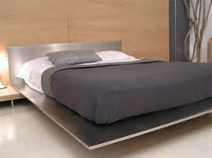 Steel Bed Frames For Sale Contemporary Minimal Platform Bed In Brushed Stainless Steel For Sale At 1stdibs