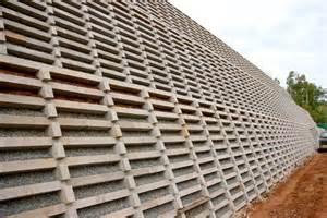 concrete crib walls gravity retaining walls concrib