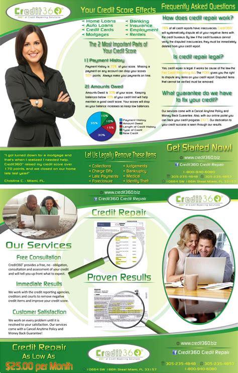 Credit Repair Brochure Templates credit repair brochure templates 28 images credit