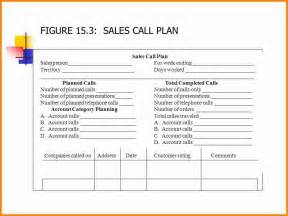 sales call plan template free sales plan sle sales call plan sle pdf template