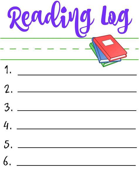 printable children s reading books start school like a chion printable reading log for