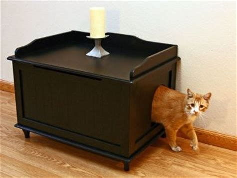 designer litter box  simple subtle  discreet
