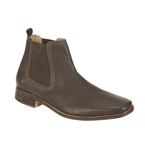 mens boots lewis lewis joshua chelsea boots in brown for