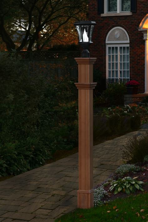 diy outdoor light post outdoor diy backyard and patio lighting projects fall