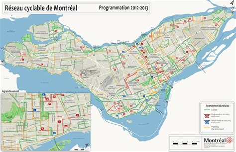 printable map montreal cycling maps of montreal quebec free printable maps