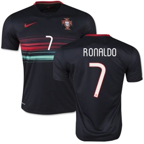 Tshirt Ronaldo Black 2016 uefa cristiano ronaldo portugal jersey