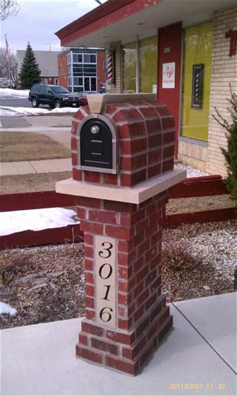 Handmade Mailbox - residential