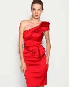 cocktail dress for black one shoulder cocktail dress gt gt busy gown