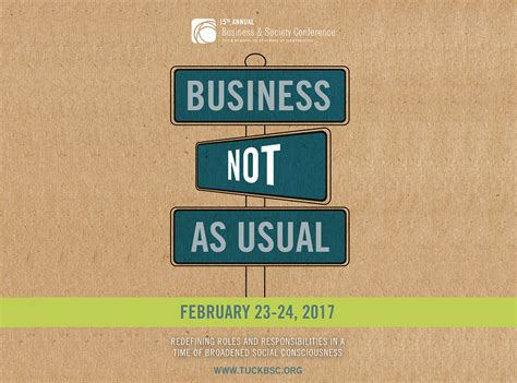 Diversity Mba Admissions Conference by Tuck School Of Business A Minimal Waste Conference Tuck