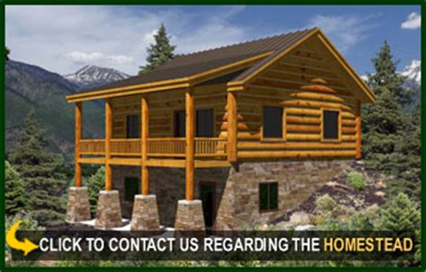 Homestead Cabin Plans by Homestead Log Cabin Floor Plans