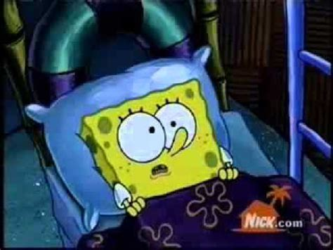 spongebob in bed sponge bob bed intruder youtube
