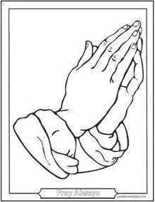 praying coloring page 150 catholic coloring pages sacraments rosary saints