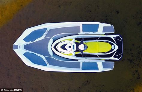 Bed Murah 2in1 Uk 90 wave boat 444 converts a jet ski into a five seater boat daily mail