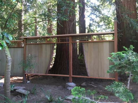 japanese garden fence rebuild perspective design build
