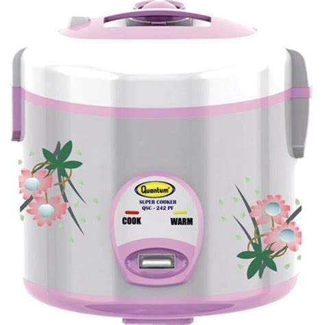 Rice Cooker Digital Quantum quantum rice cooker qsc 242 pf aneka