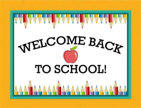 Saint brendan school welcome back to school sign 580 215 444