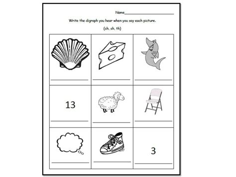 Ch Worksheets by Digraphs Ch Sh Th Wh Ph Kn The O Jays Words And Poem