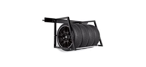 Wall Mounted Tire Rack by Heavy Duty Wall Mounted Tire Storage Rack By Griot S Garage Choice Gear