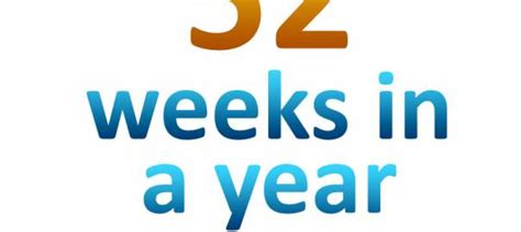 how many weeks in a year ask phil
