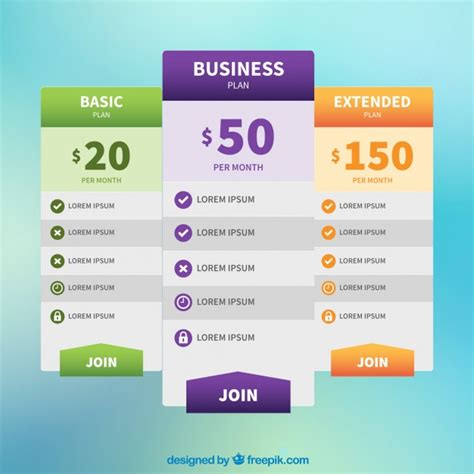 web price plan banners vector free download web price banners vector free download