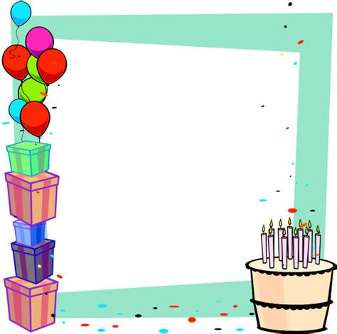 pin power point birthday back ground powerpoint templates
