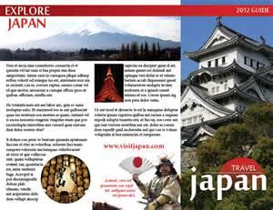 Japan Travel Brochure Template by Japan Travel Brochure Gallery