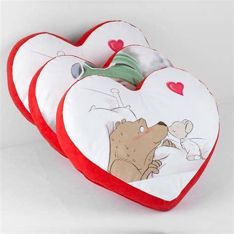 cuscini a forma di cuore cuscino cuore personalizzato con foto nome dedica in 48ore