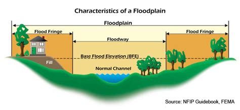 diagram of a floodplain buying selling or building a home in a flood plain what